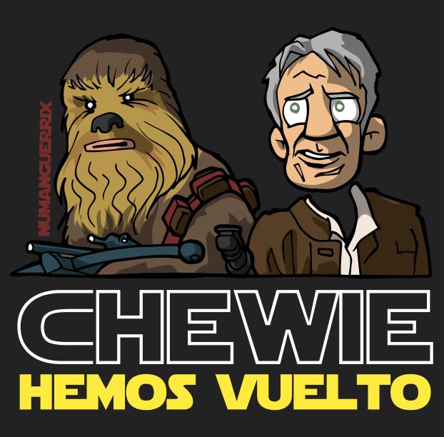 Chewie, hemos vuelto