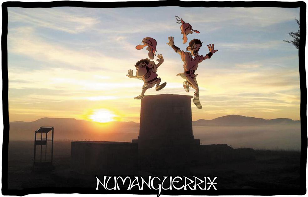 Saltando por Numancia