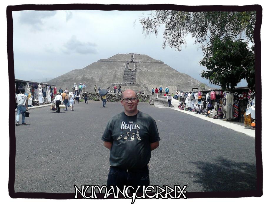 Prámide del Sol de Teotihuacán