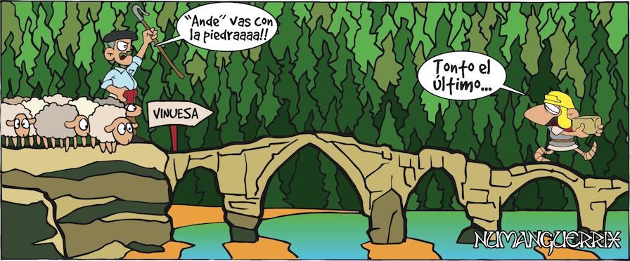 El puente de Vinuesa